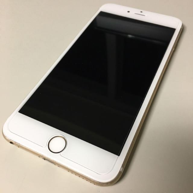 iPhone 6 plus 64g 金色 6+