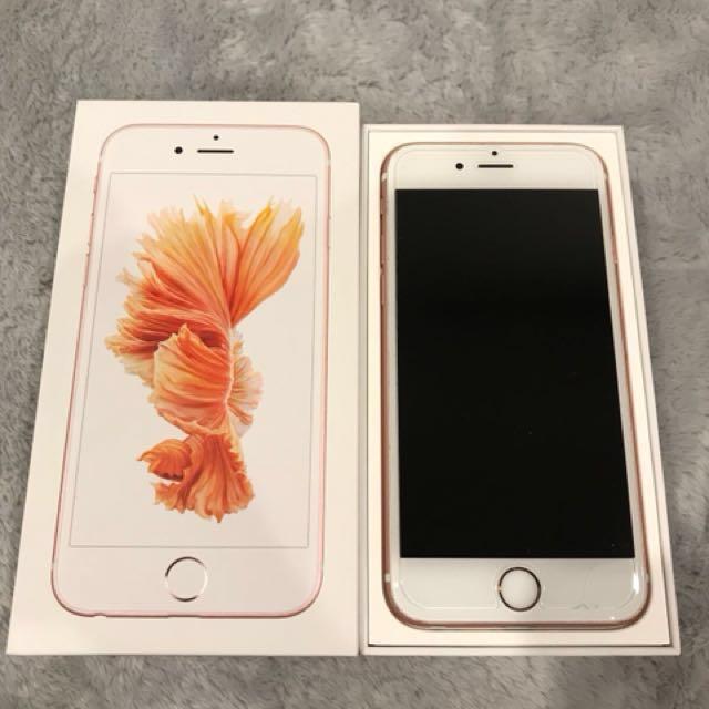 Iphone 6s, Rose Gold, 64GB