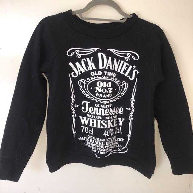 Jack Daniels Jumper size 8