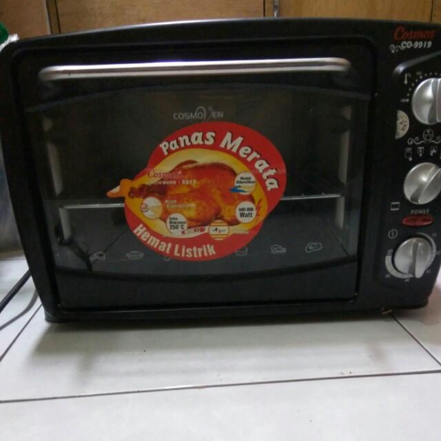 Jual Oven Listrik Cosmos Co 9919 Kitchen Appliances On Carousell