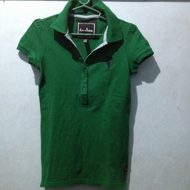 Kamiseta Green Polo Shirt XS-S
