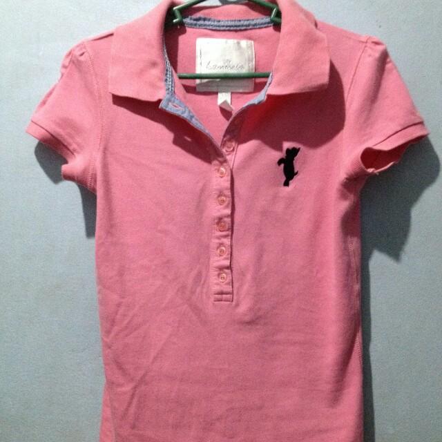 Kamiseta Pink Polo Shirt XS-S