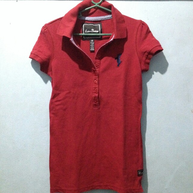 Kamiseta Red Polo Shirt XS-S