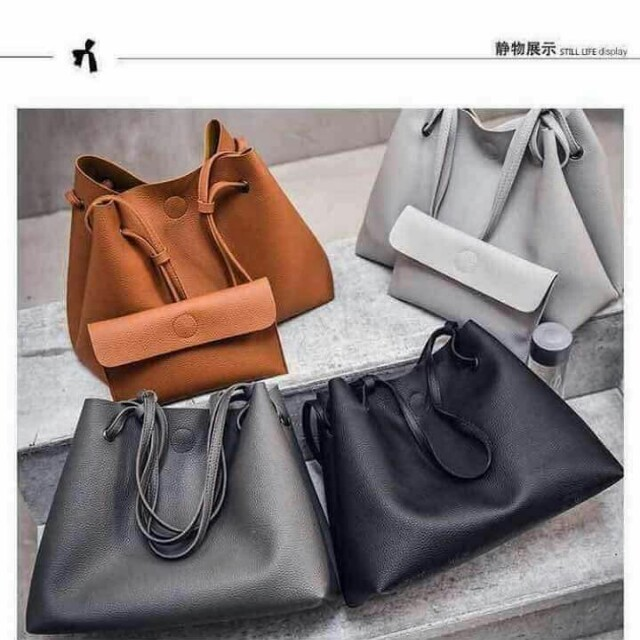 Korean 2 in 1 Bag