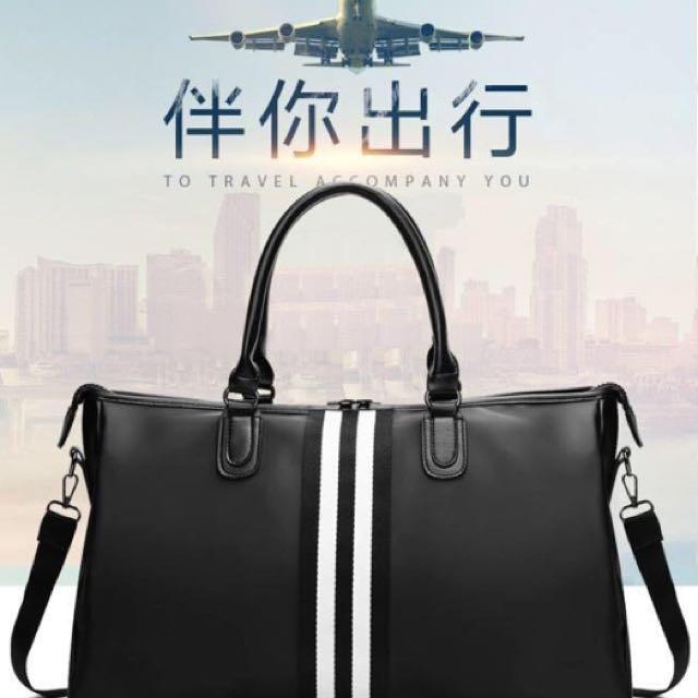 Korean Travel Bag (Gucci Inspired)