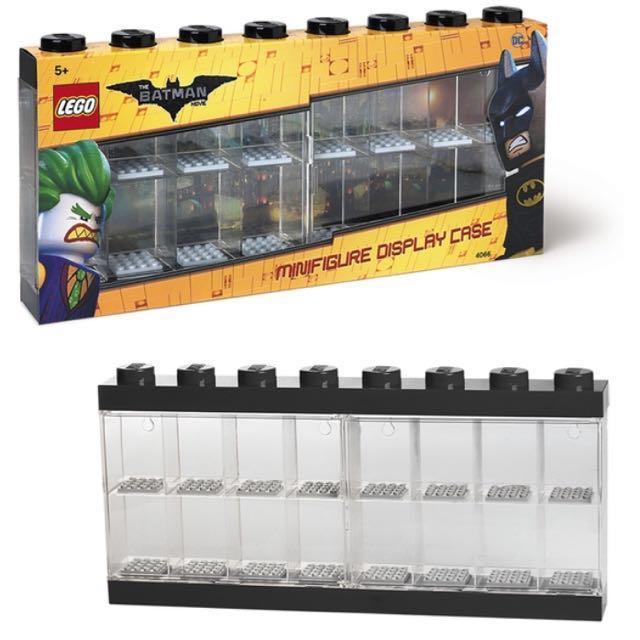 Bedwelming Lego Batman Movie Minifigure Display Case 5005209 (Black with 16 &PD65
