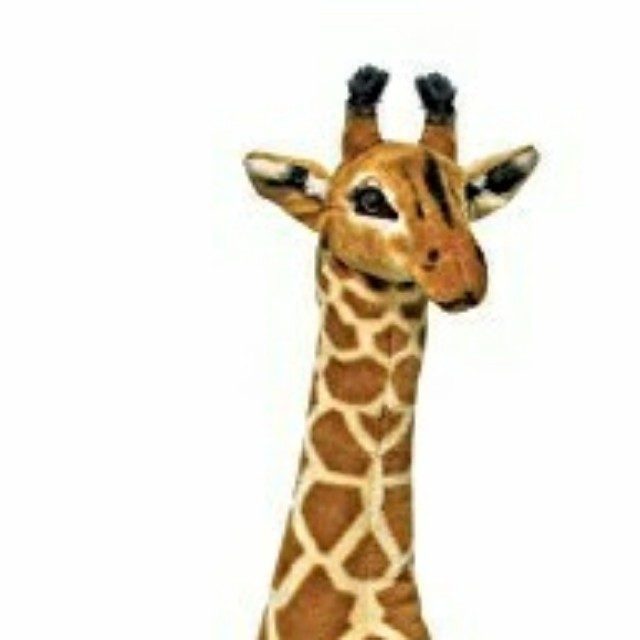 Life Like Giant Giraffe Plush From Melissa Doug Toys Games