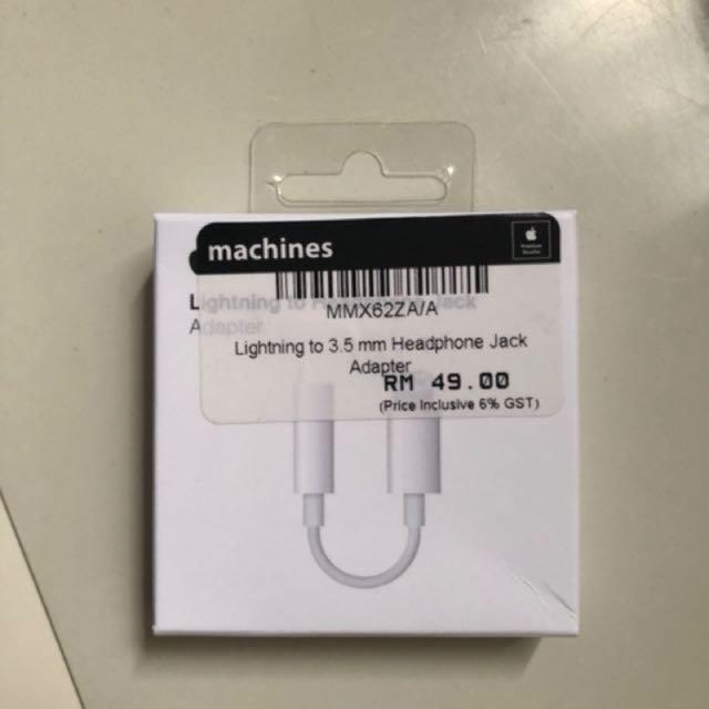 lightning to headphone jack original