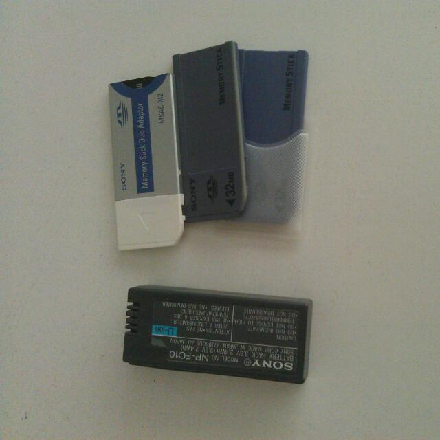 Lithium Battery And Memory Sticks