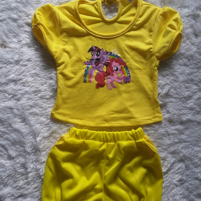 Little pony yellow