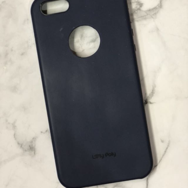 Loly Poly Iphone 5/5s Matte Hard Case (Navy)