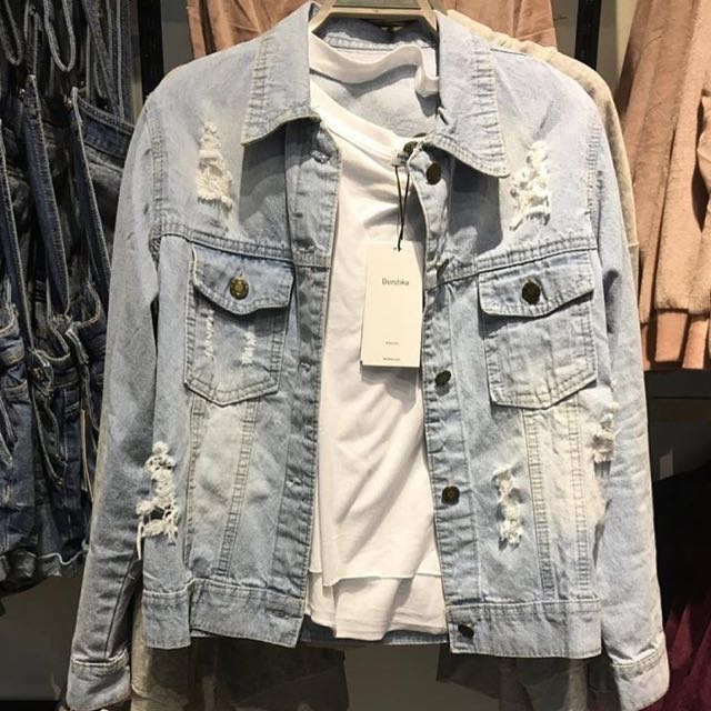 look a like berskha denim jacket (NEW)