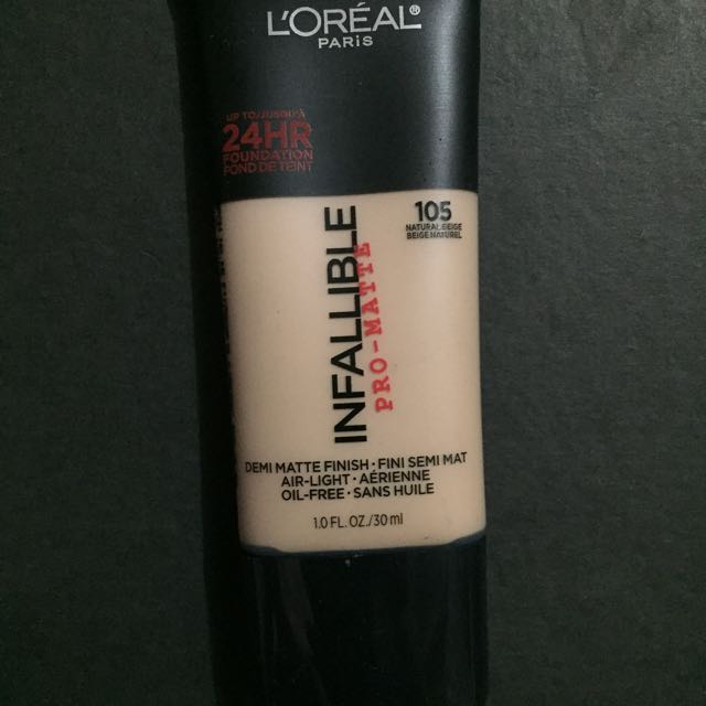 LOREAL INFALLIBLE PRO MATTE shade 105 exp 05/20