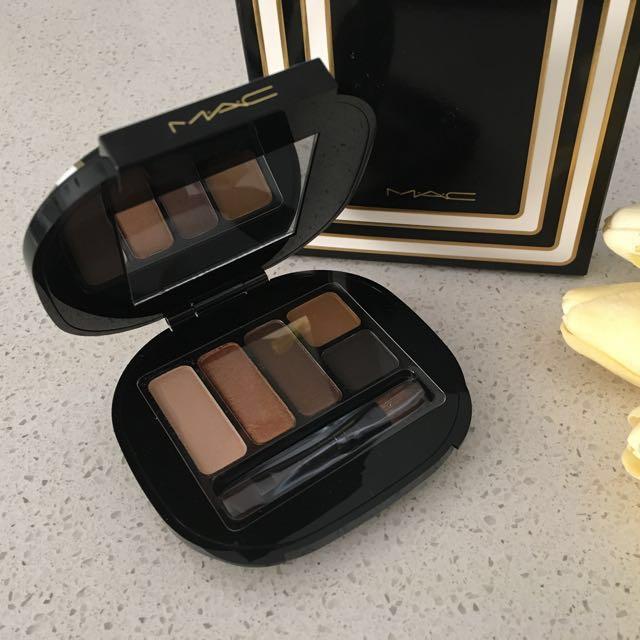MAC Stroke of Midnight/ Warm Eyeshadow Palette * Brand new in box*