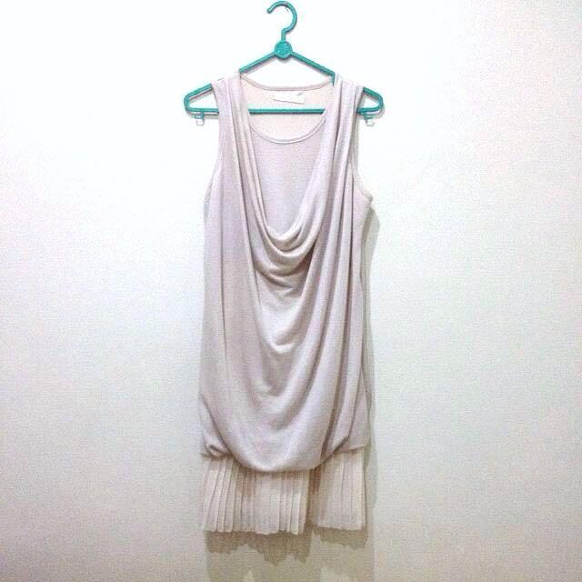 Magnolia Cream Shimmery Dress