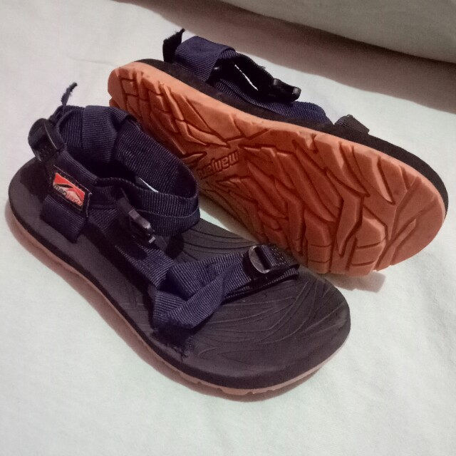 Manjaru Navy Blue Sandals 💝, Women's