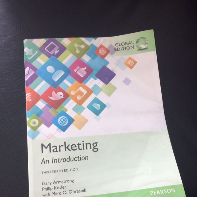 Marketing Thirteenth Edition Pearson