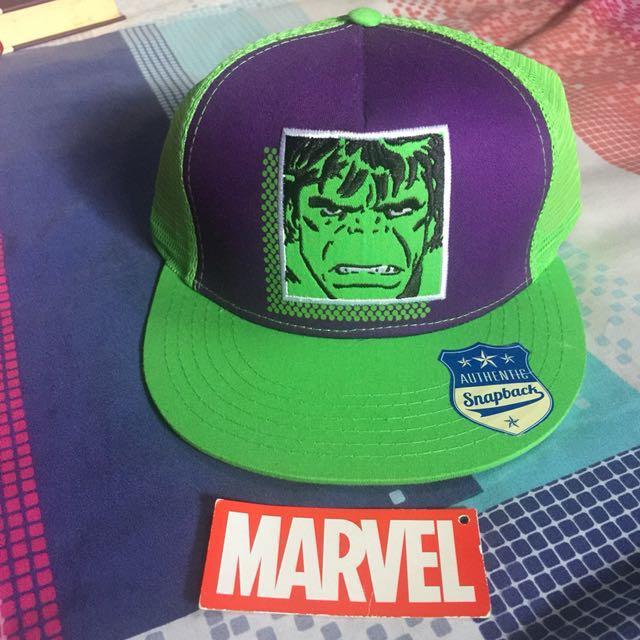 Marvel Hulk Snapback Cap