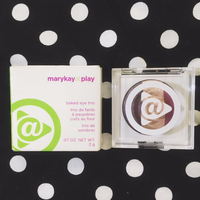 Mary Kay Baked Eyeshadow Trio in On The Horizon