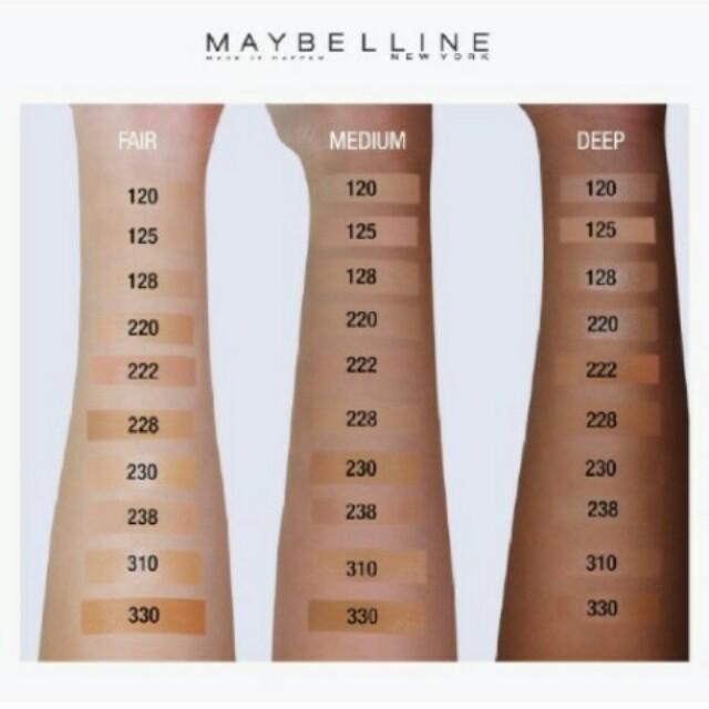 Maybelline True Fit Makeup Makeup Vidalondon