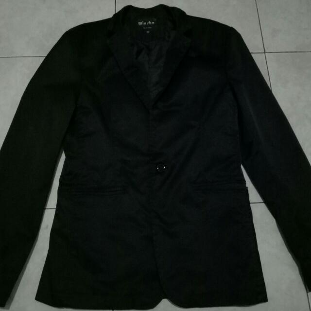 Mens Black Blazer Jacket For Wedding,  Prom And Corporate Office