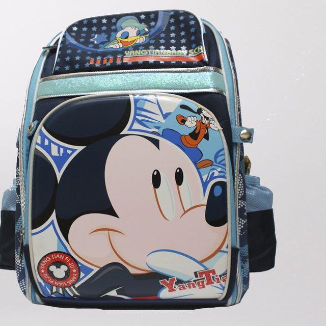 Mickey Cute Backpack School bag