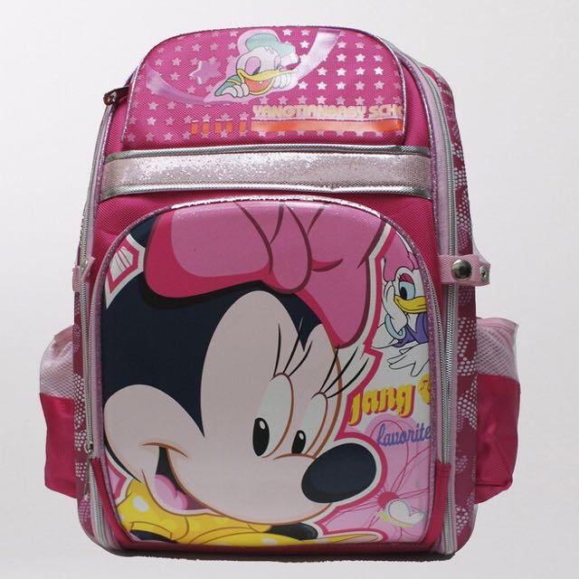 Minnie Girls school Bag