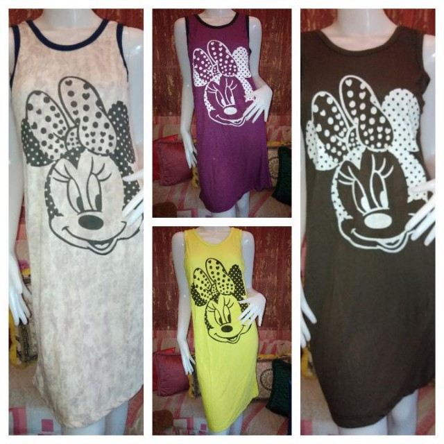 Minnie mouse duster