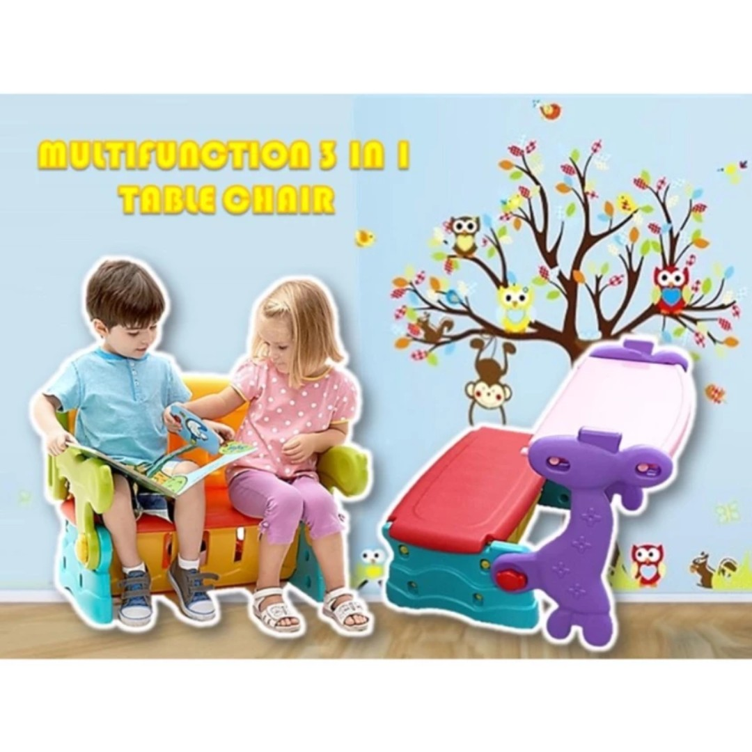 Multifunction Kids Educational Table Set