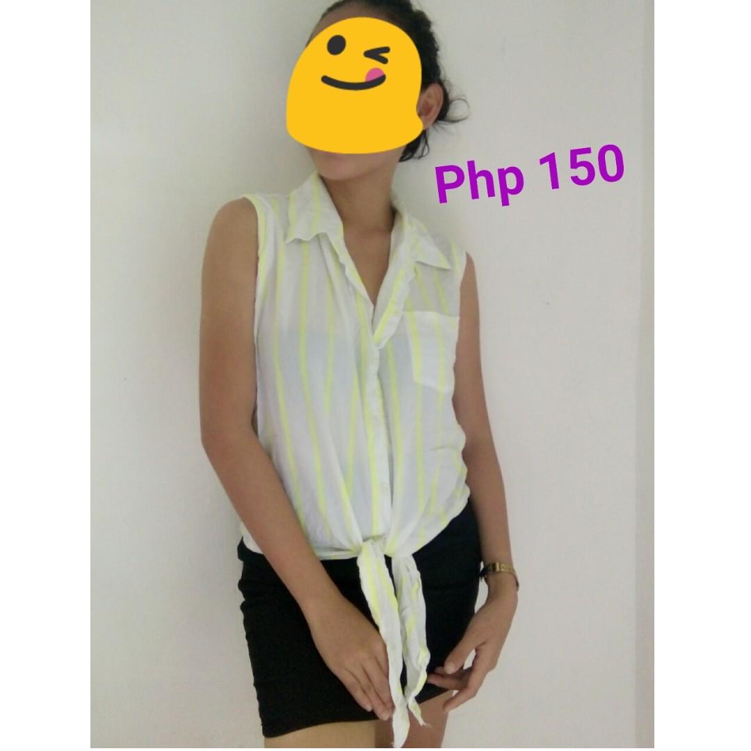 Neon Polo Tie