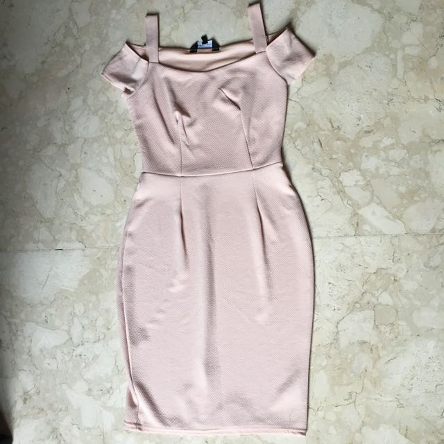 New look bodycon (pink pastel)