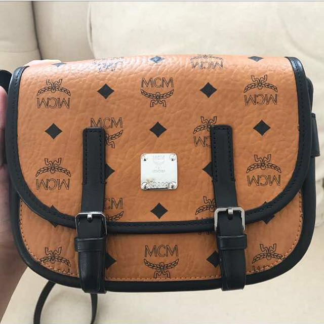 MCM Patricia Visetos Leather Convertible Crossbody Chain Wallet Source ·  New Mcm mini crossbody bag SALE Luxury Bags   Wallets on Carousell bb9805acd4f02