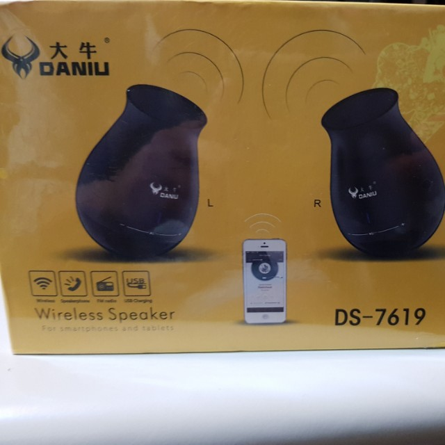 (one pair)New super high voice quality bluetooth speakers