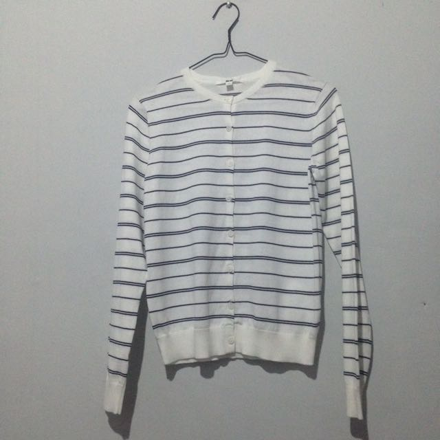New Uniqlo Stripes Cardigan Size S