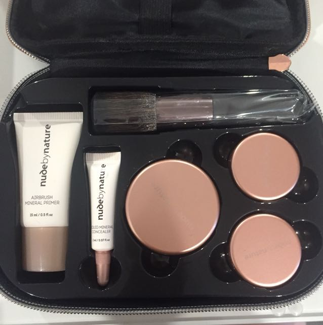 Nude by Nature Complexion Essentials Starter Kit ( Light)