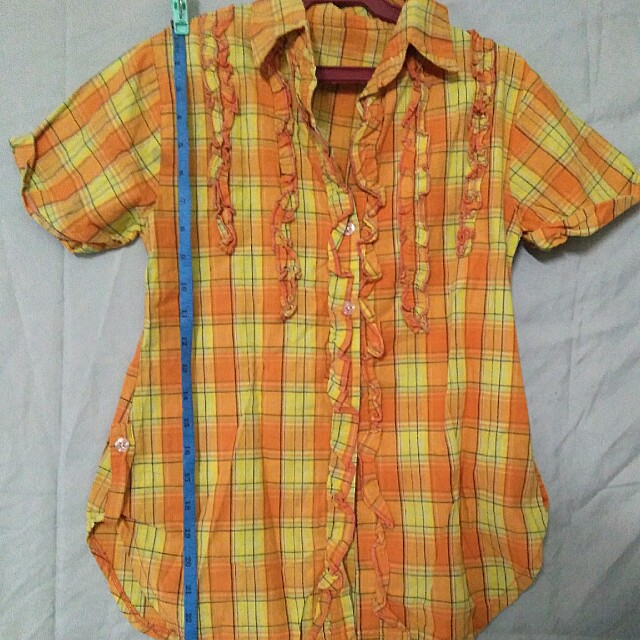 Orange Polo (3 for 100)