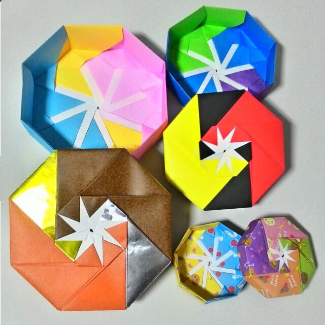 Octagonal Modular Origami Box – Origami Tutorials | 640x640