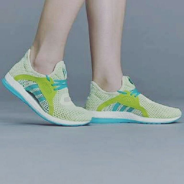 Original ADIDAS Pure Boost X Sunny Lime Sneakers