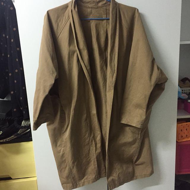 Pazzo駝色大衣(薄)