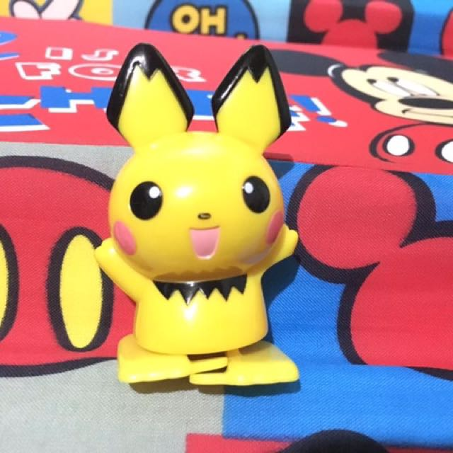 Pikachu figure toy with flaw