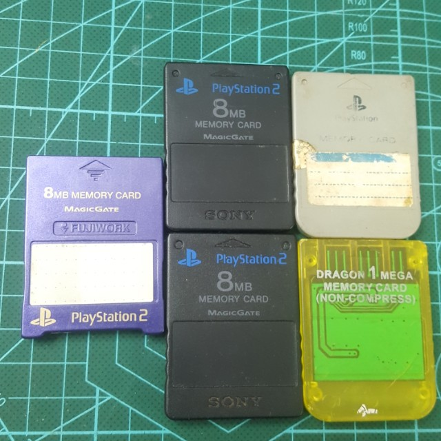 Playstation Memory Card