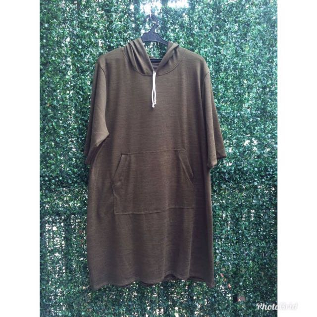 Plus size/over size hoodie dress