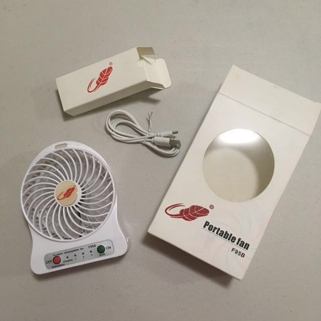 Portable Fan (Rechargeable)