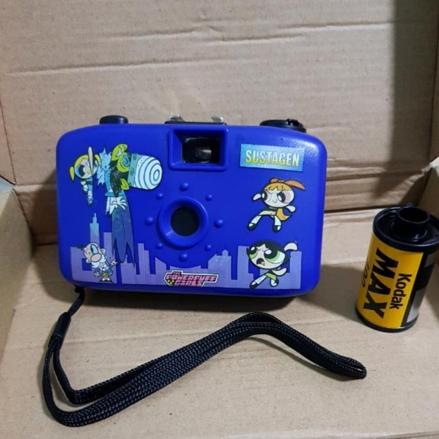 POWERPUFF GIRLS / CAMERA