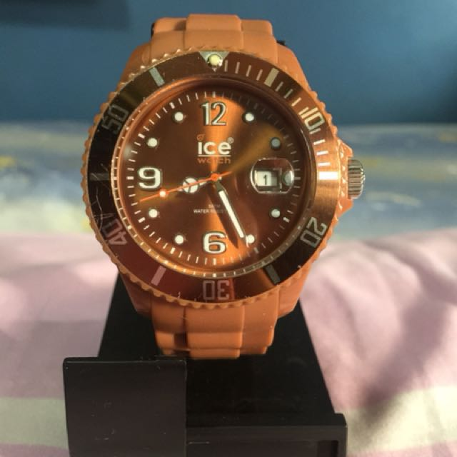 Preloved Ice Watch - Caramel Brown Rare Color
