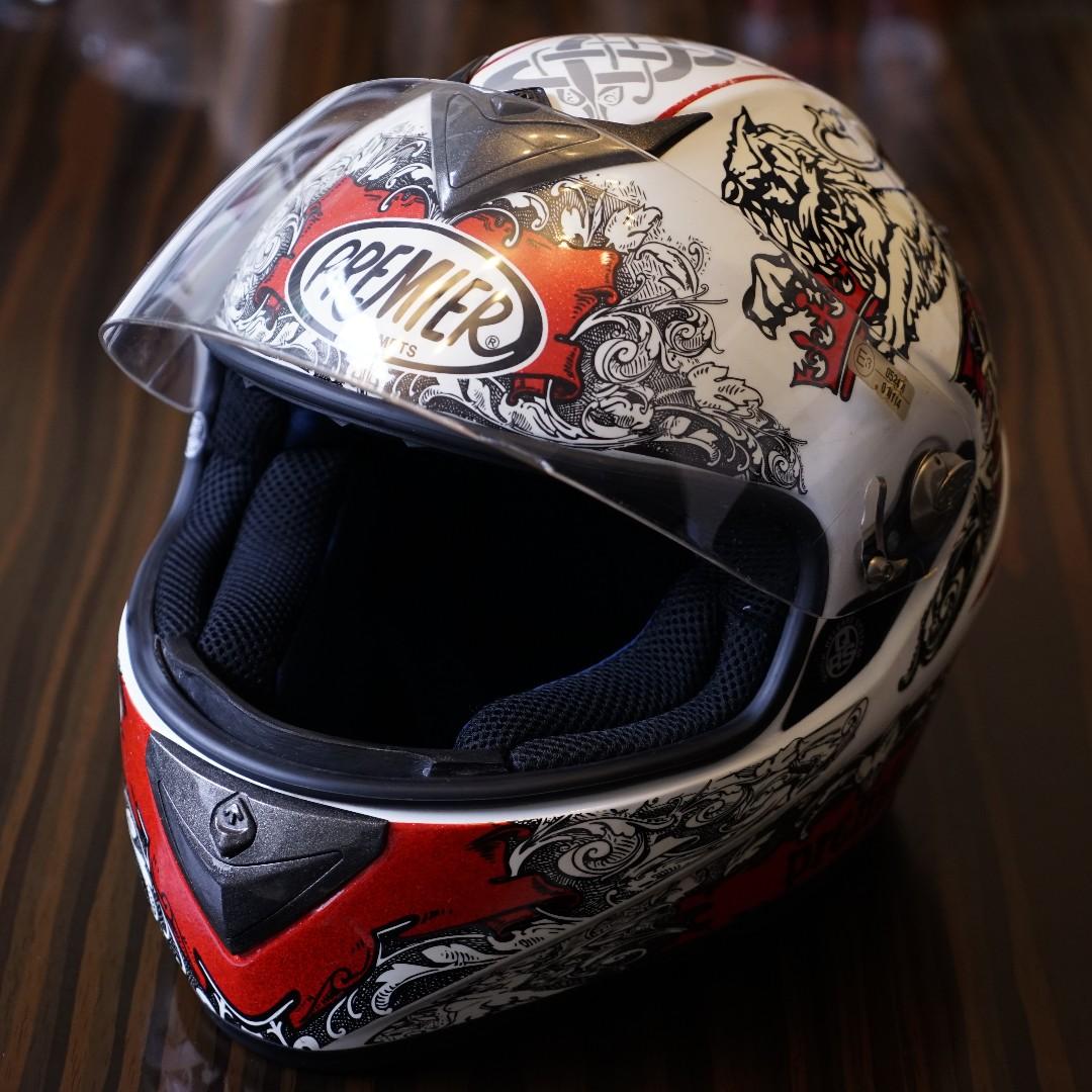 PREMIER DRAGON HELMETS 義大利 頂級 全罩 安全帽 尺寸 S Size 近全新 另有 L Size