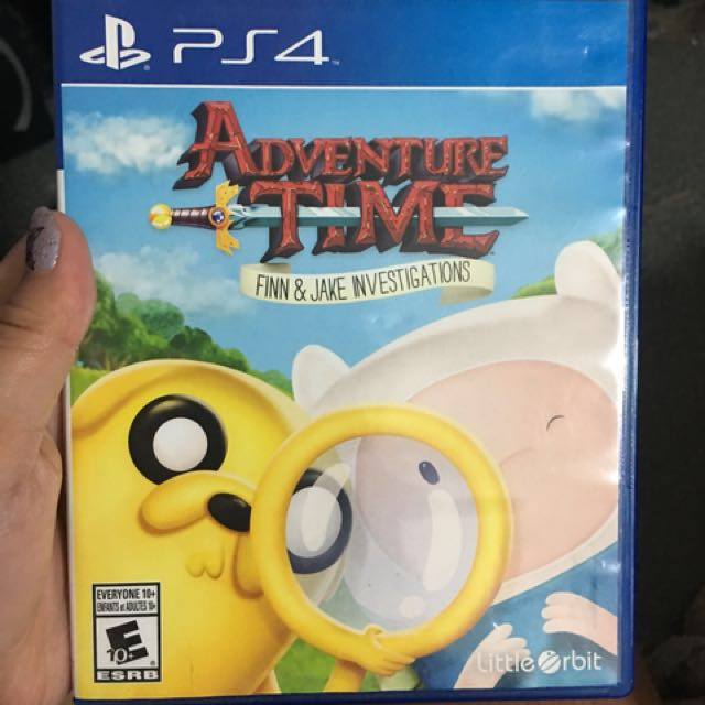 PS4 Game Finn and Jake Investigation
