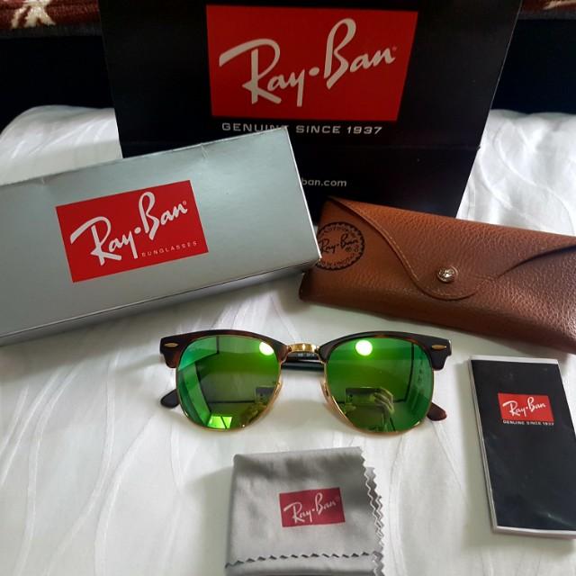 Rayban clubmaster green