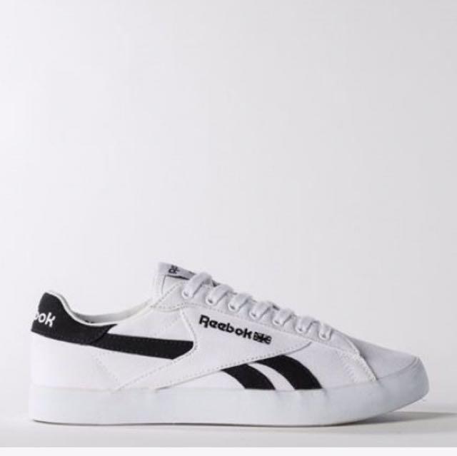 韓國代購REEBOK NPC UK FVS 復古 帆布鞋 小白鞋  網球鞋 CM9268 $2180 尺寸 22-28 商品需預購7-14天
