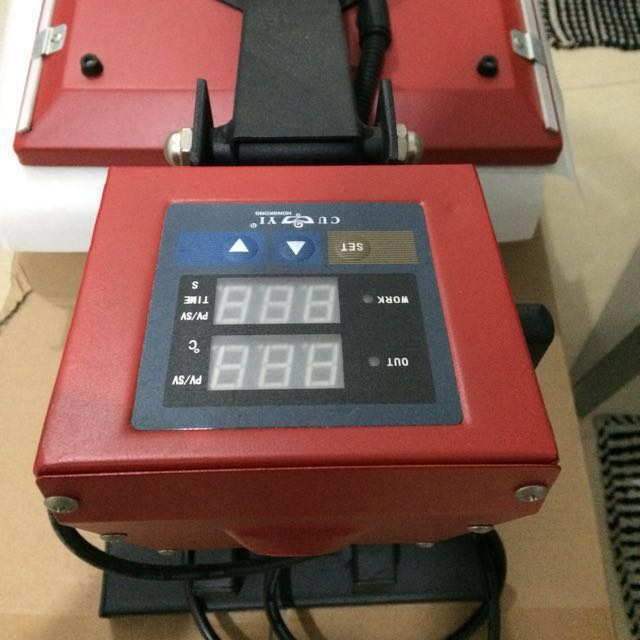 (RESERVED) Heat Press Cuyi Machine 15x15